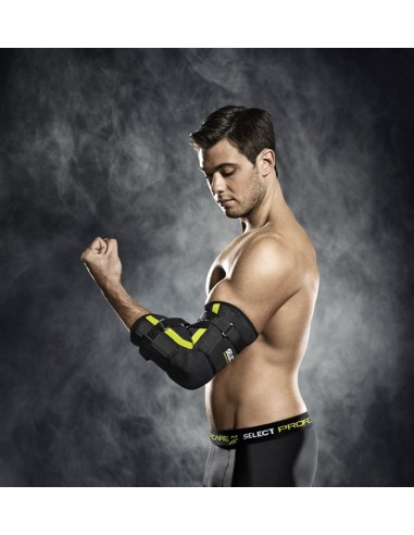 Elbow support with splint